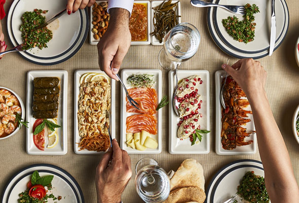 Beirut Restaurant Menu